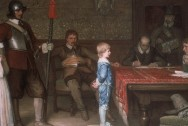 'And when did you last see your father?' painting by William Frederick Yeames, 1878, public domain via Wikimedia Commons.