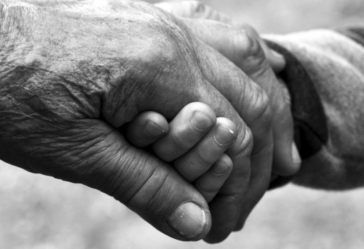 Image Credit: 'Old Age, Youth, The Hand', by debowscyfoto, CC0 Public Domain, via Pixabay.