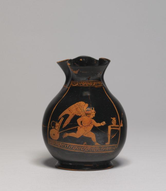 Ancient Athenian festival Chous