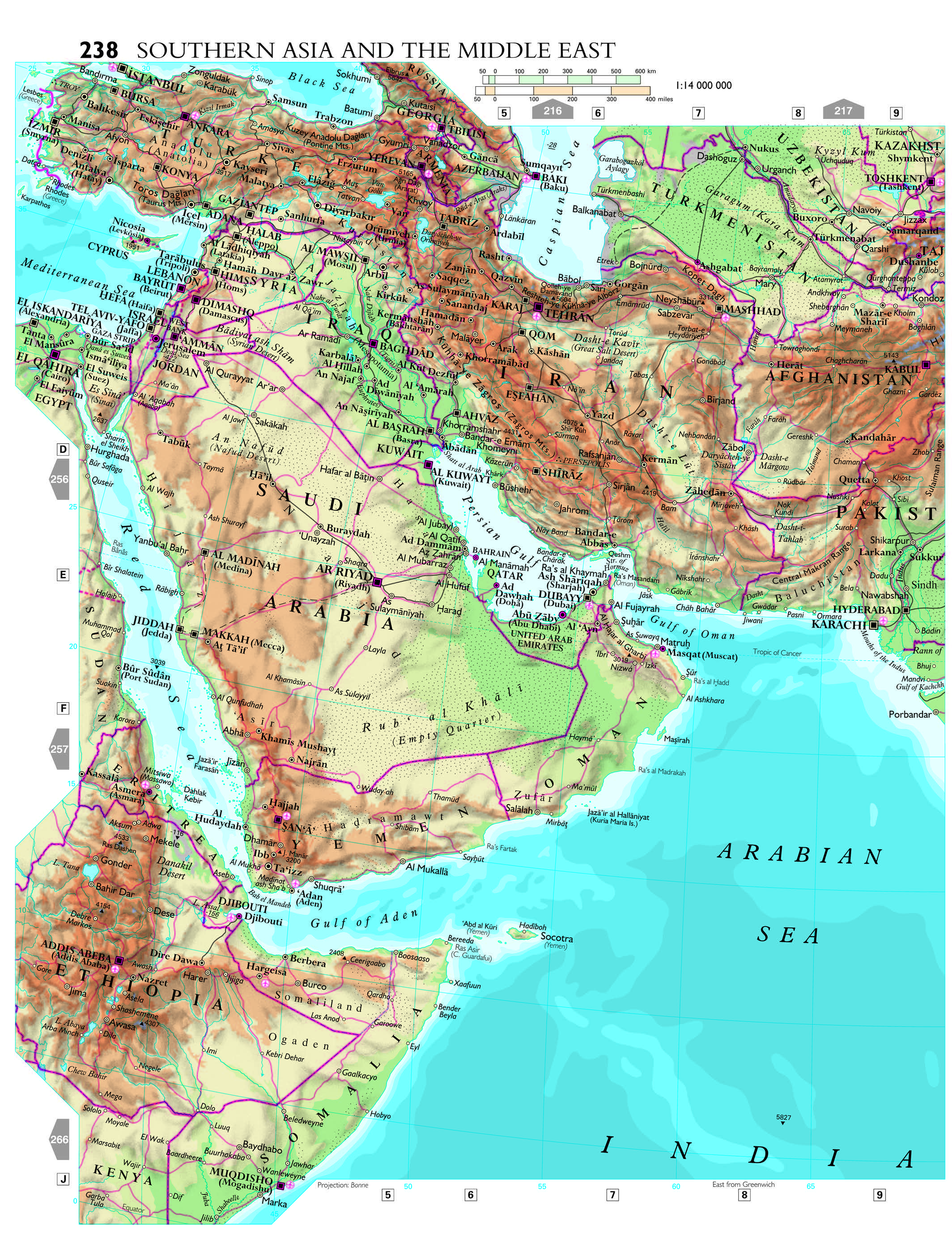 World Atlas Map Of Asia.Place Of The Year A Look Back At Past Winners Oupblog