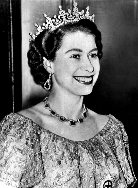 Line Drawing Of Queen Elizabeth Ii : Th anniversary of the coronation queen elizabeth ii