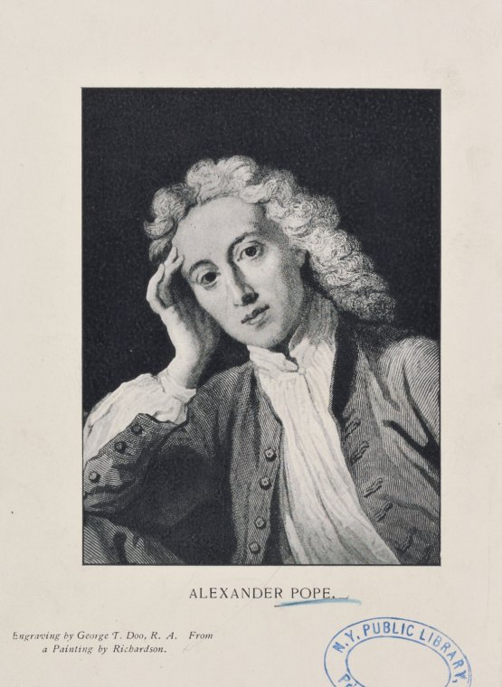 a biography of alexander pope an 18th century english poet Alexander pope — english poet born on may 21, 1688, died on may 30, 1744 alexander pope was an 18th-century english poet he is best known for his satirical verse, as well as for his translation of homer.