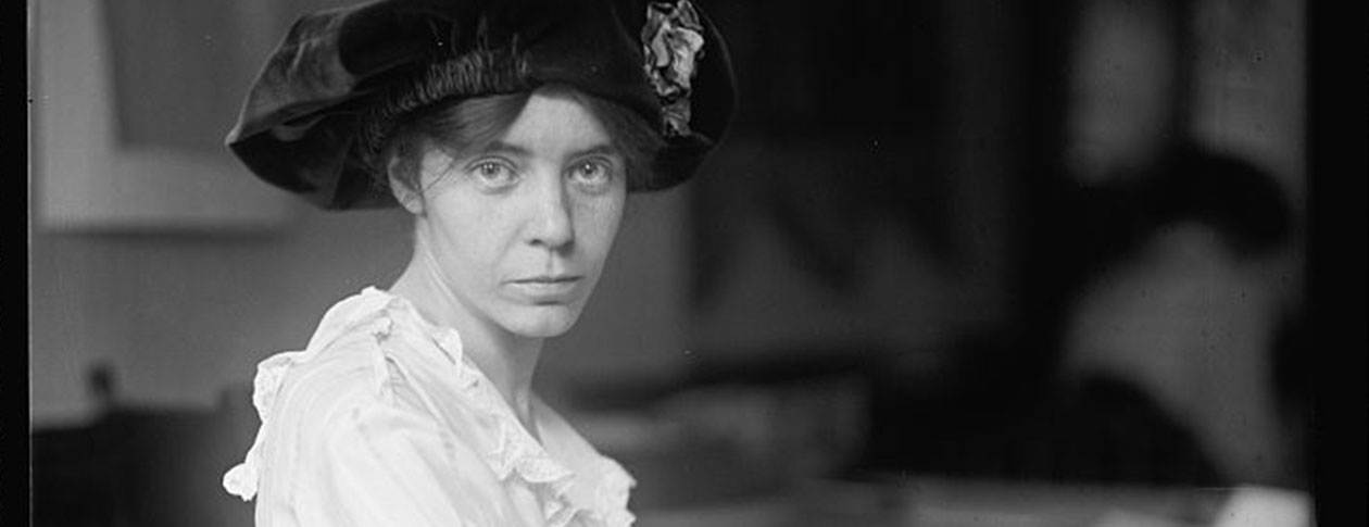 alice paul Biography of alice paul, one of the leading figures in the passage of the 19th amendment for women's suffrage.