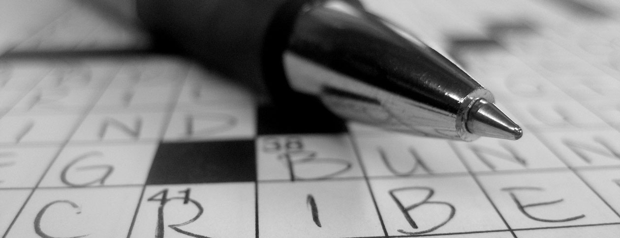 Clues Code Breaking Cruciverbalists Crosswords Oupblog