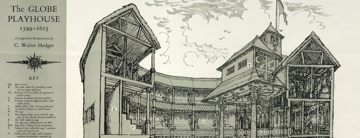 the history of the construction of the globe theatre in london Arguably the greatest theatre in the world, the royal national theatre is also one of london's most iconic landmarks and perhaps this country's foremost example.