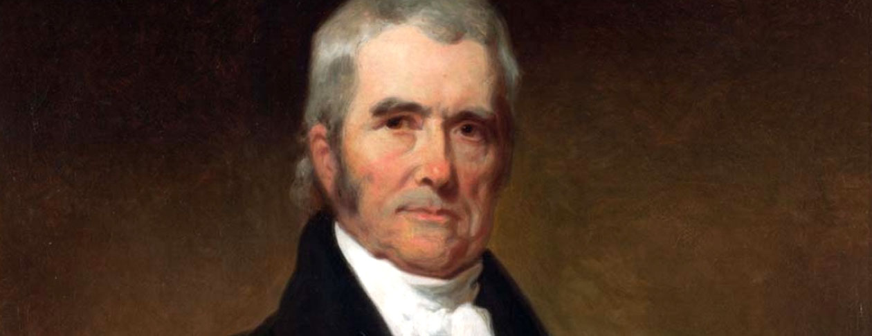 a biography of early life and education of john marshall The hinge event in the early history of the judiciary was president john adams's  appointment of john marshall as chief justice of the supreme court in 1801.