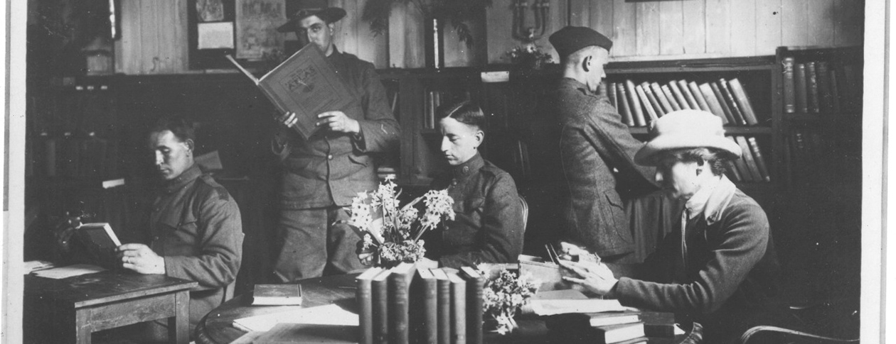 How libraries served soldiers and civilians during WWI and