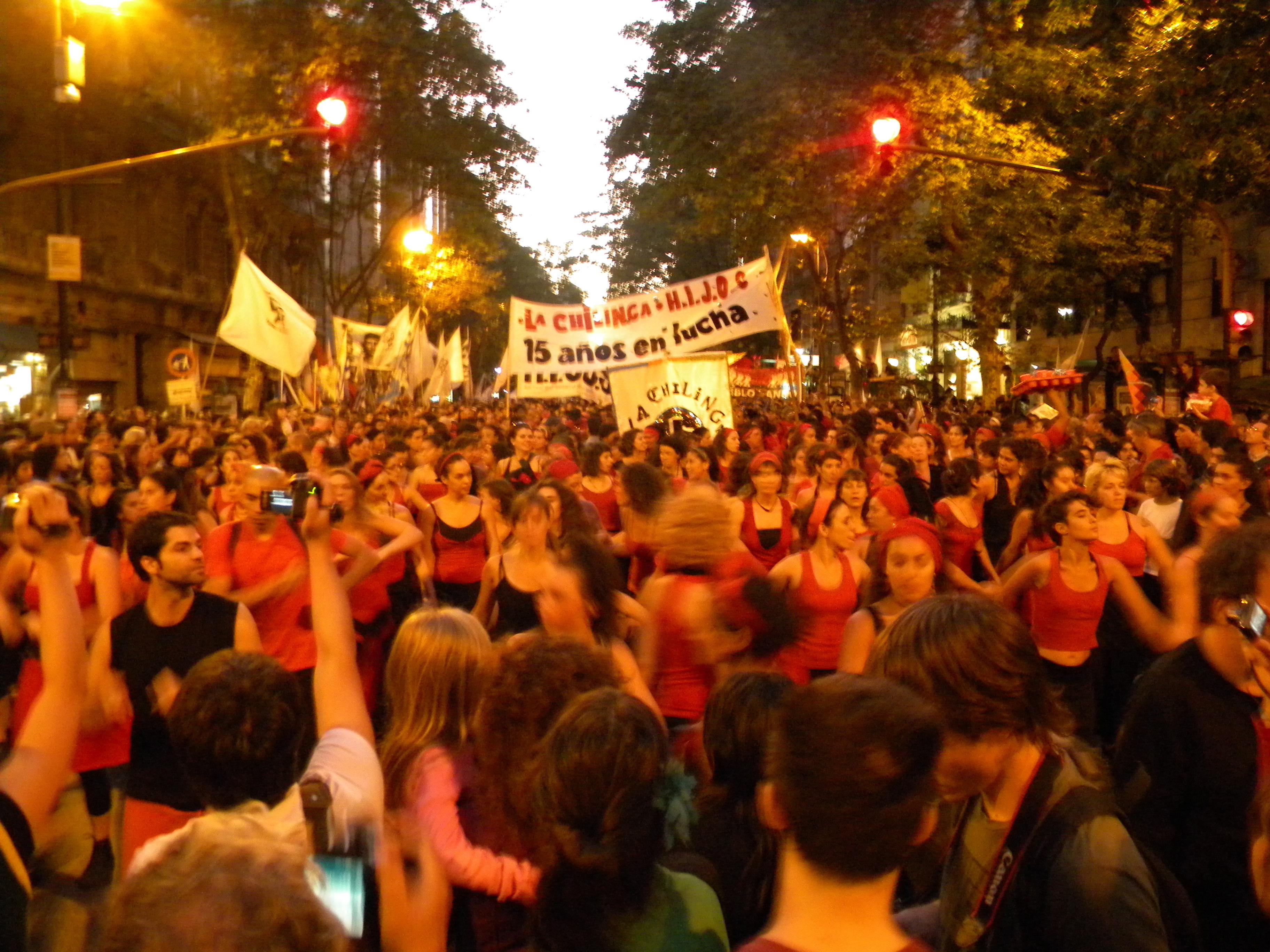 Dancing politics in Argentina