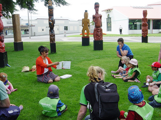 Life as a librarian in the Māori community
