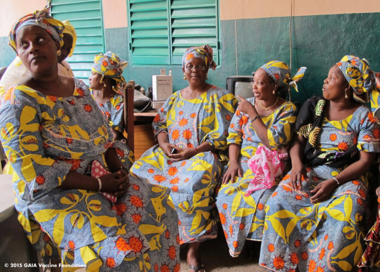 Cervical cancer and the story-telling cloth in Mali