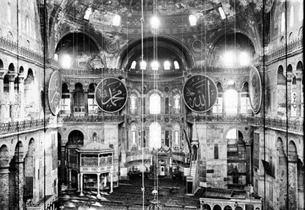 The reconversion of Hagia Sophia in perspective