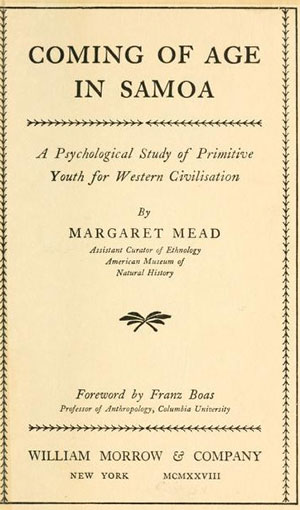 Margaret Mead by the numbers