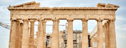 """Archaeology, architecture, and """"Romanizing"""" Athens"""