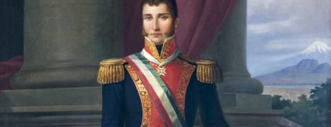 Mexican independence from Spain and the first Mexican emperor
